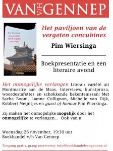 Affiche Pim Wiersinga