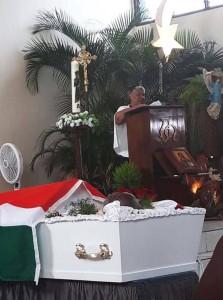 Begrafenis Slory